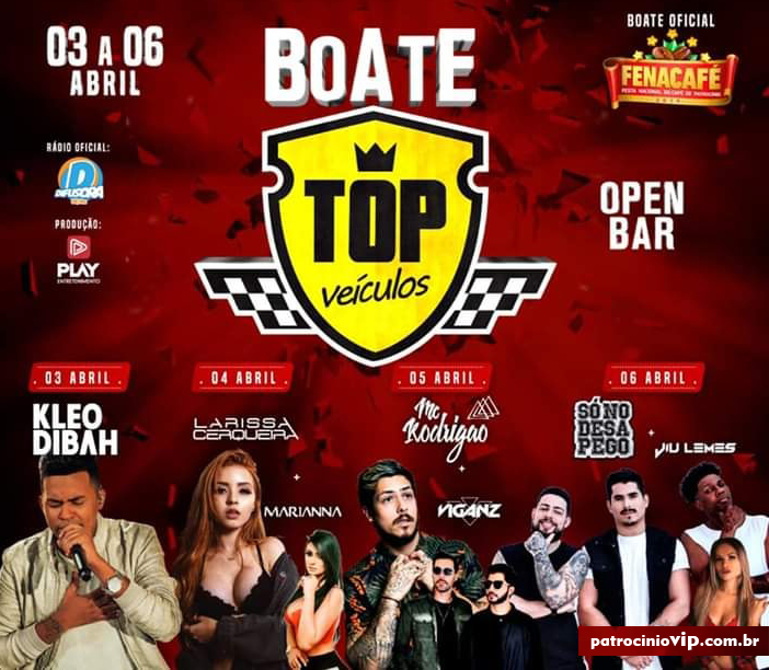 BOATE TOP - FENACAFE